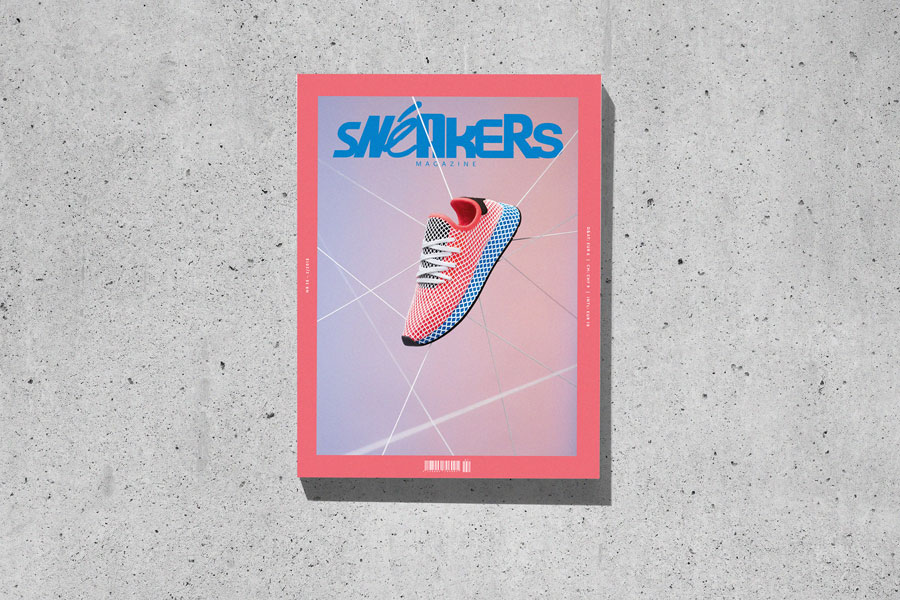Sneakers Mag April 2018 (Issue 38) - Cover (Concrete)
