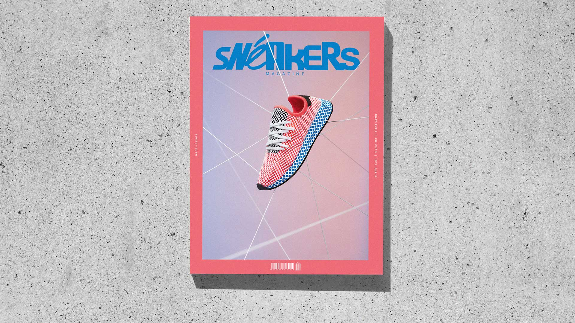 Sneakers Mag April 2018 (Issue 38) - Cover (Slider Concrete)