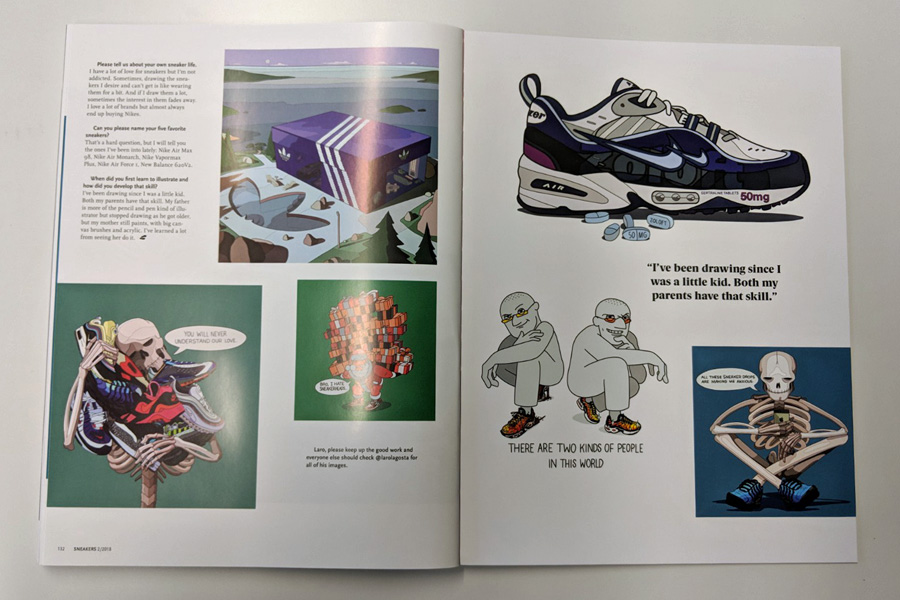 Sneakers Mag April 2018 (Issue 38) - Laro Lagosta