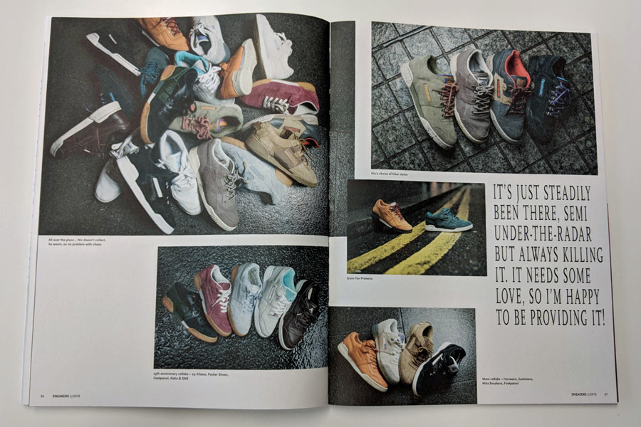 Sneakers Mag April 2018 (Issue 38) - Reebok Workout Collector