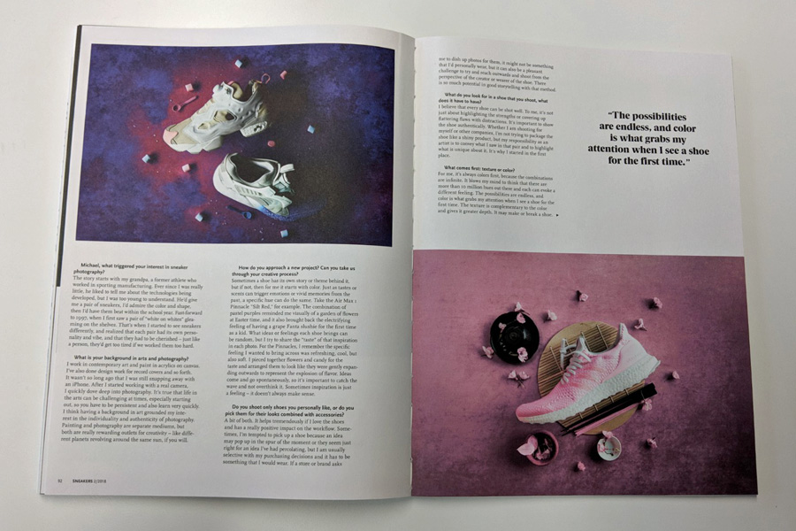 Sneakers Mag April 2018 (Issue 38) - Ryustyler
