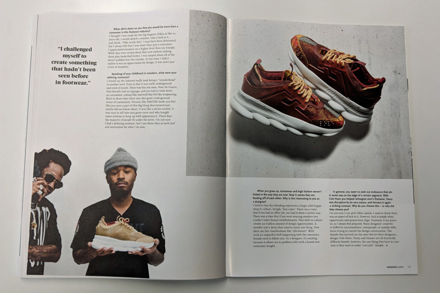 Sneakers Mag April 2018 (Issue 38) - Salehe Bembury