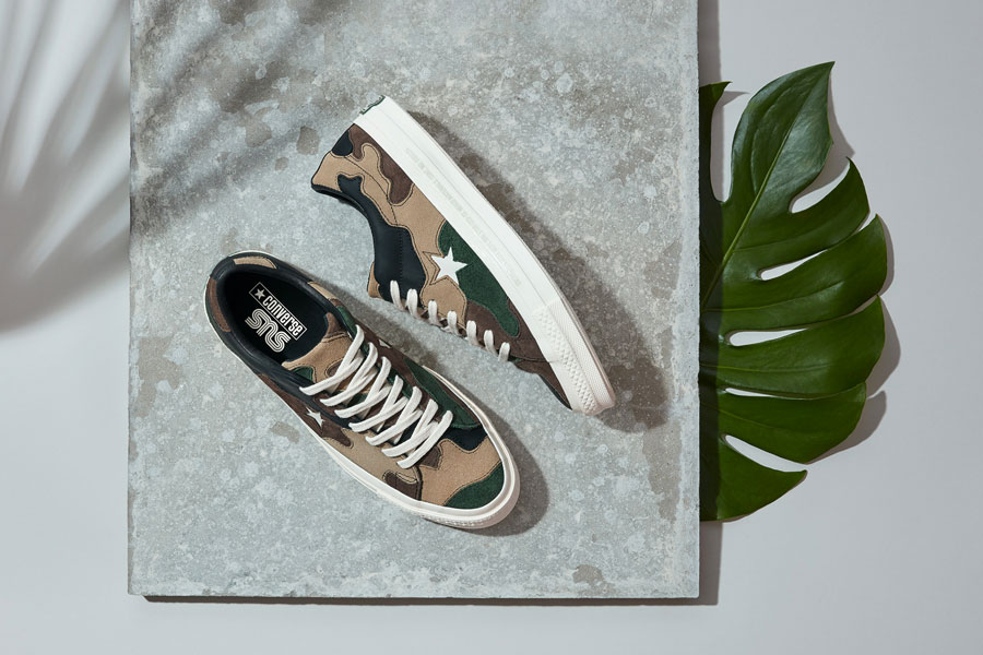 Sneakersnstuff x Converse One Star - Canteen
