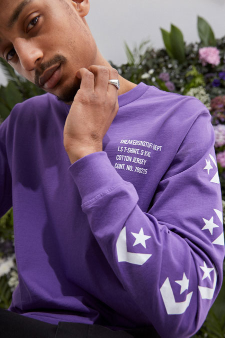 Sneakersnstuff x Converse One Star - Long Sleeve Tee