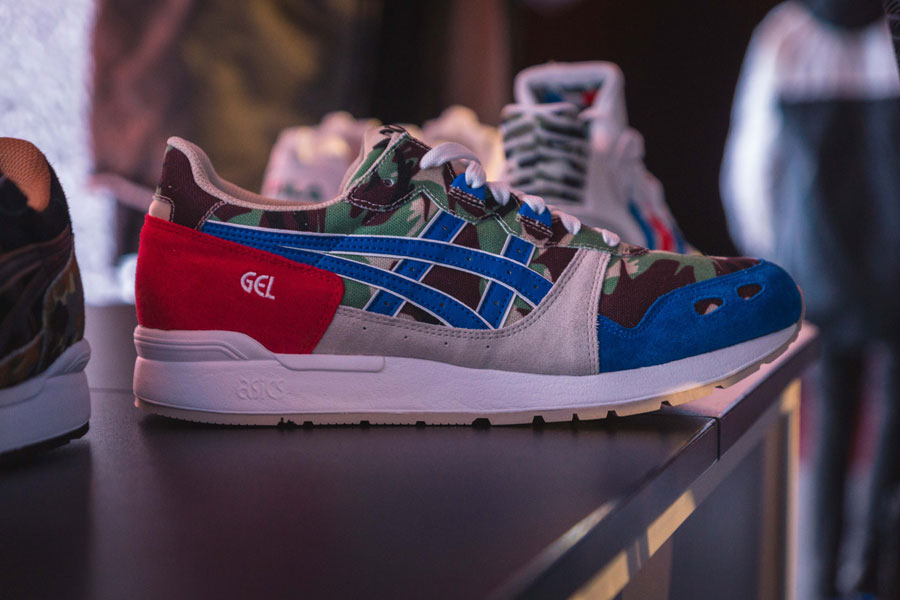 Snipes 20th Anniversary - ASICS Collab (Blue Red)