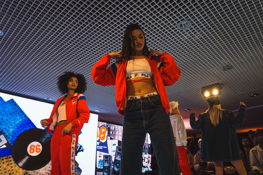 Snipes 20th Anniversary - FILA Runway