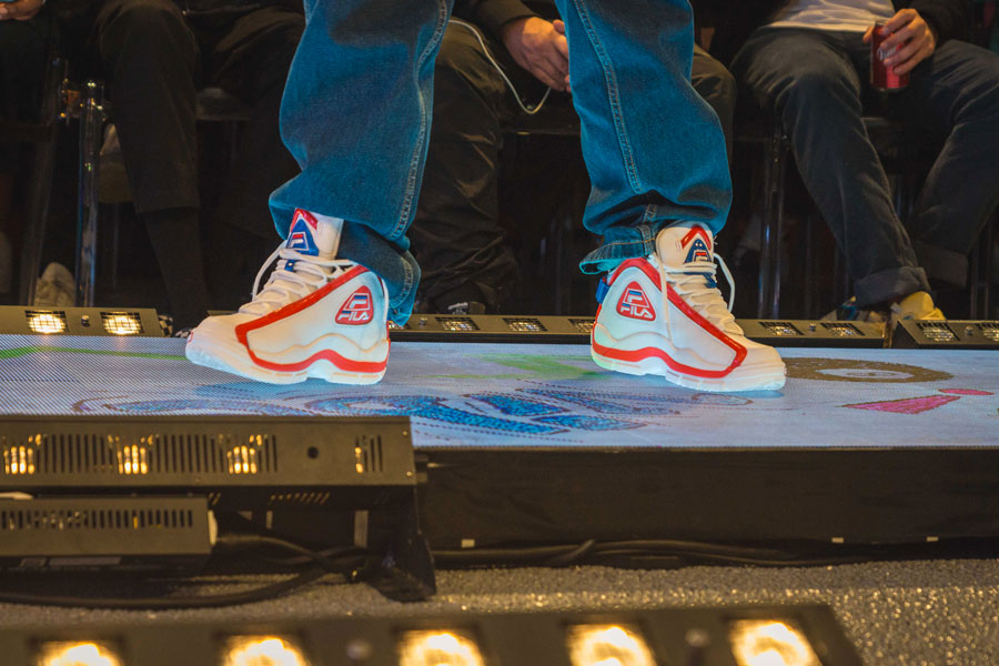 Snipes 20th Anniversary - FILA Sneaker Collab Runway