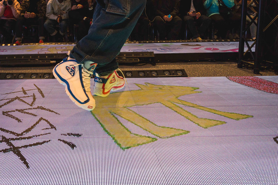 Snipes 20th Anniversary - Fashion Show (FILA Sneaker Collab)