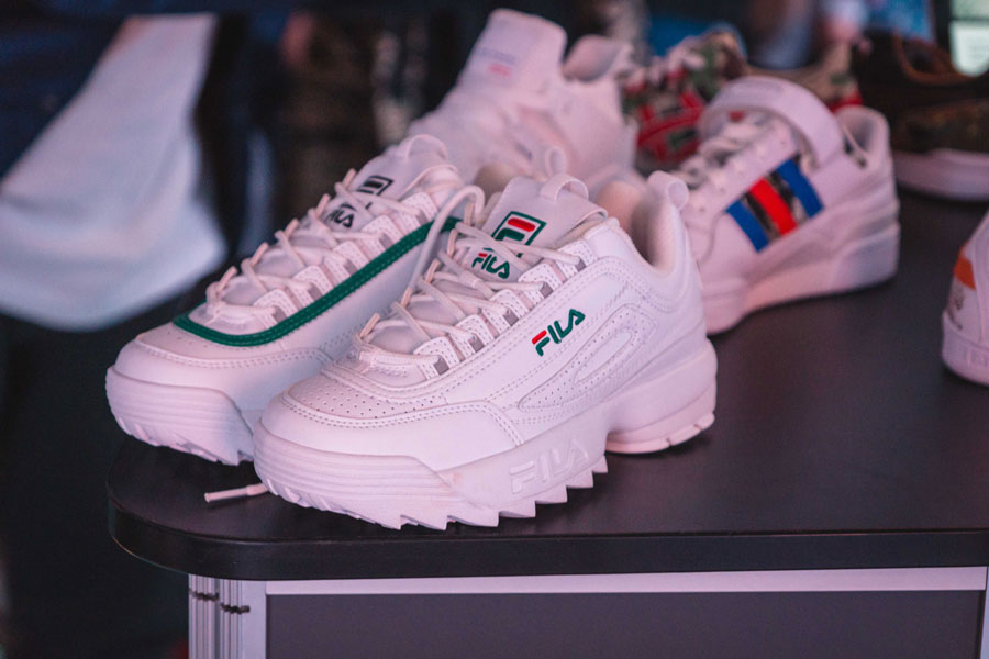 Snipes 20th Anniversary - FILA Disruptor Collaboration (Close)
