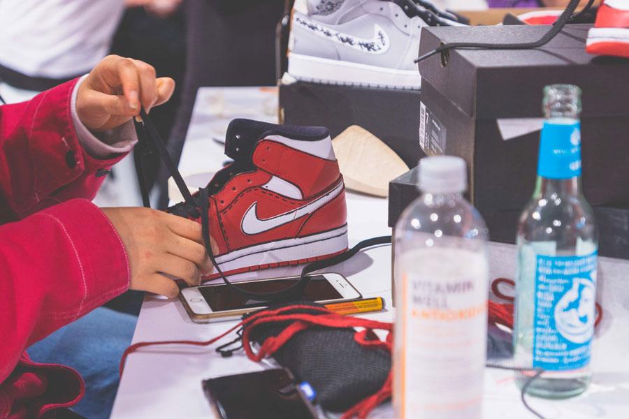 SNIPES presents The Customization of the Air Jordan 1 - Recap (Red Air Jordan 1 Mid Marker)