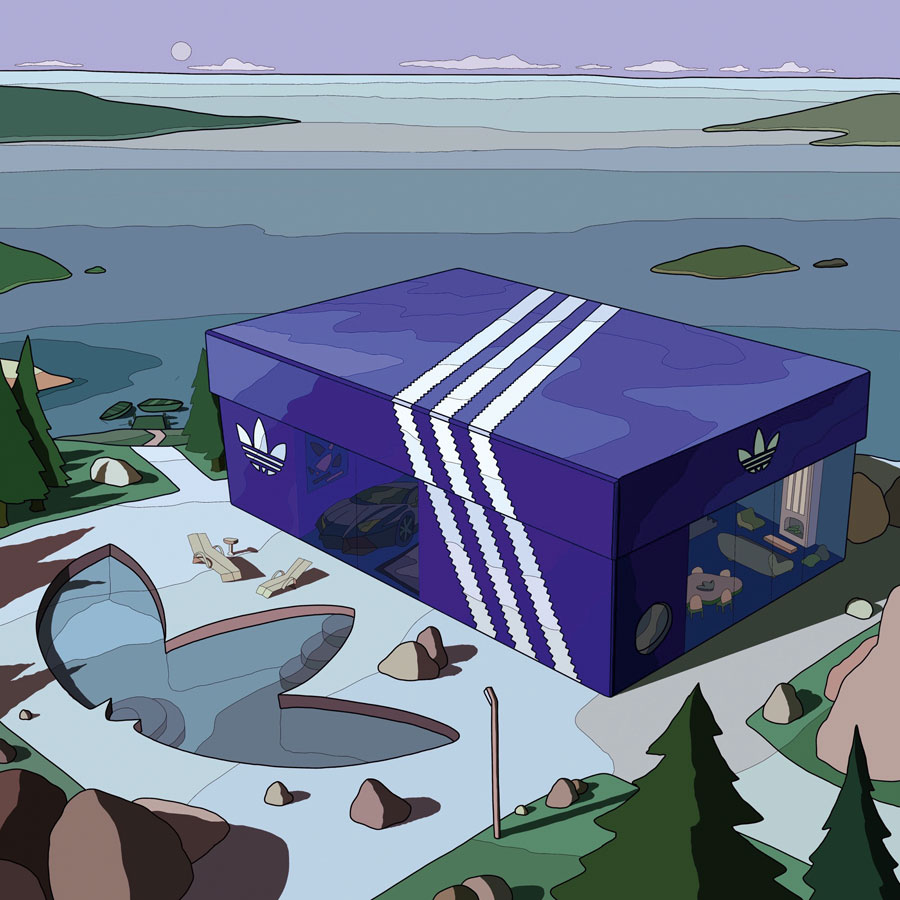 The Art of Laro Lagosta - adidas Box House