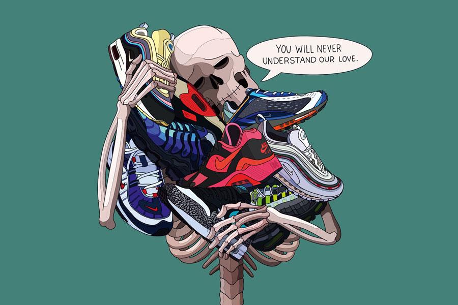 The Art of Laro Lagosta - Sneaker Love