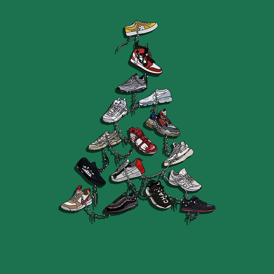 The Art of Laro Lagosta - Sneaker Tree