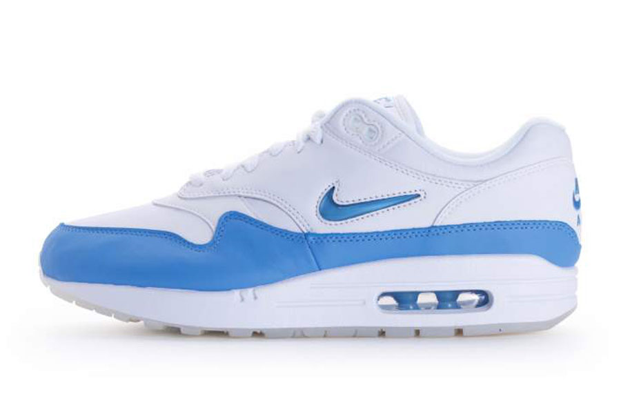 10 Nike Air Max Sneakers for Less Than 100 - Nike Air Max 1 Premium SC (White / University Blue)