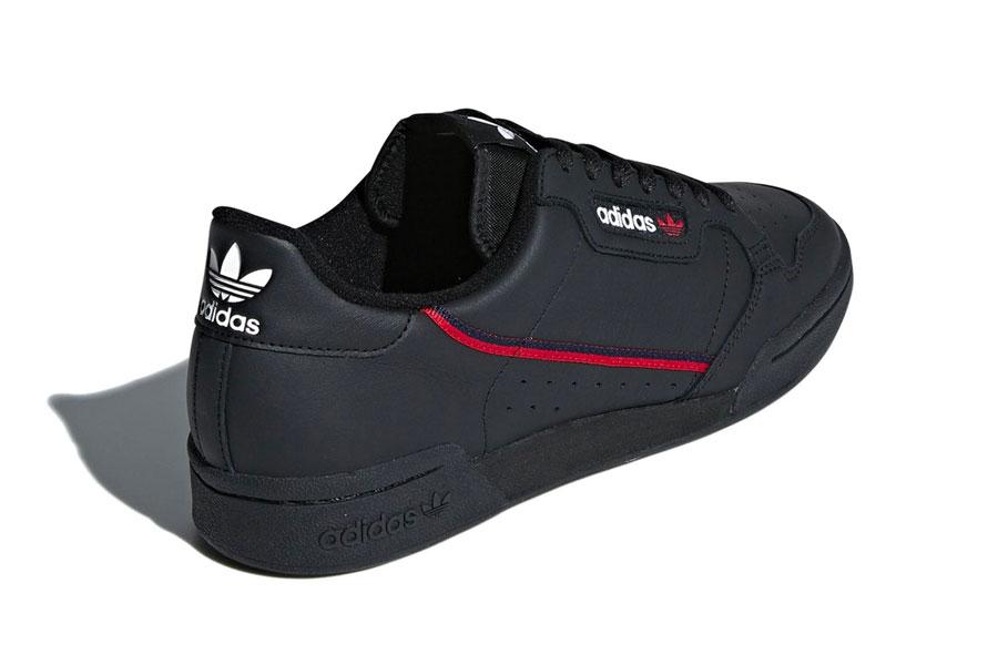 adidas Continental 80 Rascal Core Black (B41672) - Heel