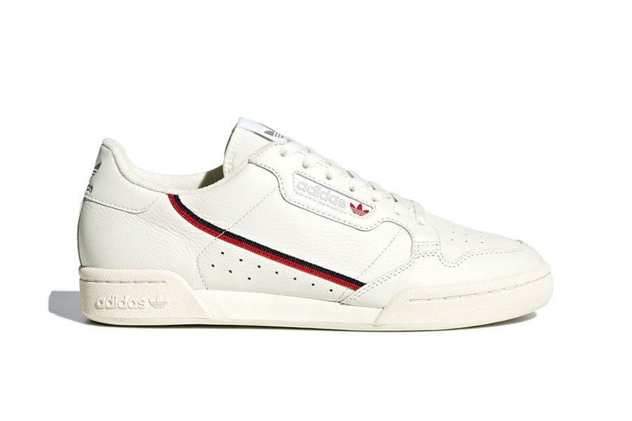 adidas Continental 80 Rascal White Tint (B41680) - Side