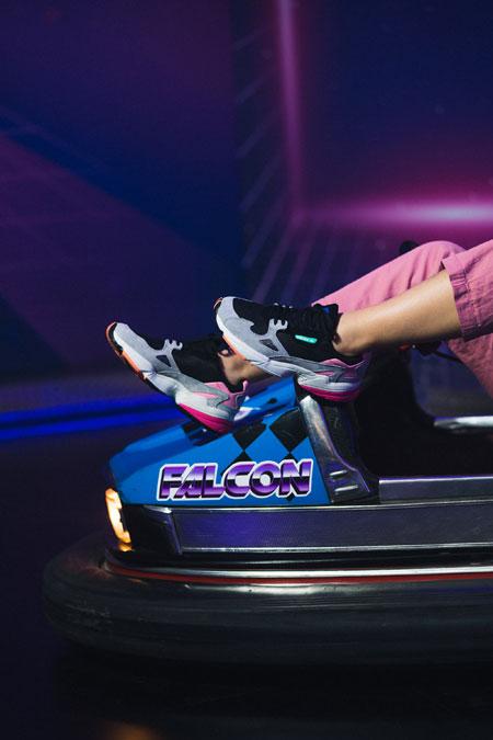 adidas Falcon W (BB9173) - Editorial kickiyangz by kane (Bumper Car 2)