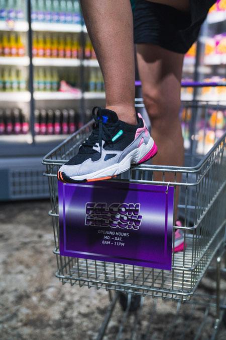 adidas Falcon W (BB9173) - Editorial kickiyangz by kane (Grocery Store 6)