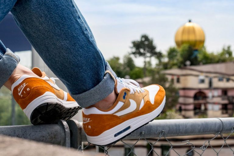 atmos x Nike Air Max 1 Curry (908366-700) - On feet