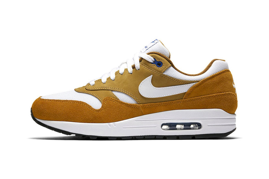 atmos x Nike Air Max 1 Curry (908366-700) - Side