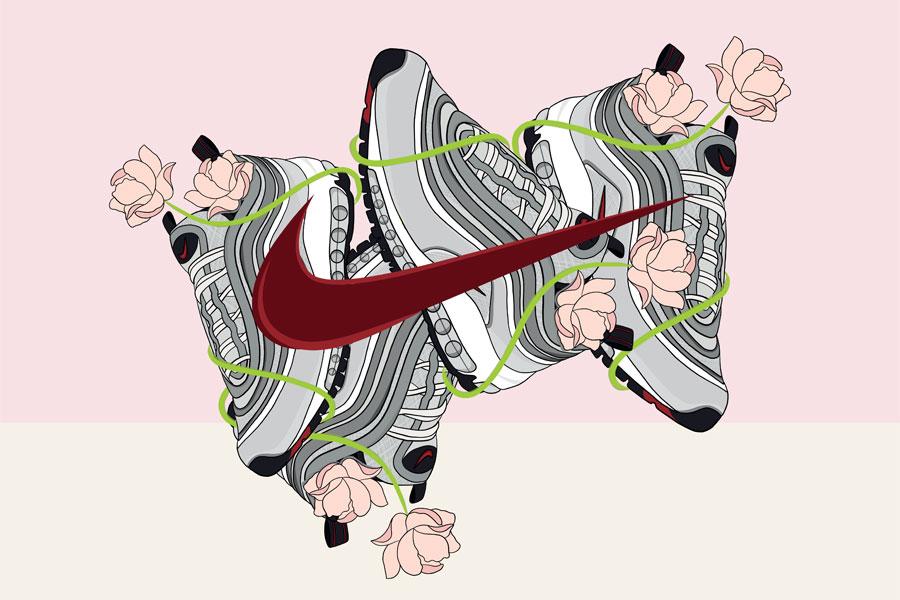 Caroll Lynn Careaux - Nike Air Max 97 Silver Bullet