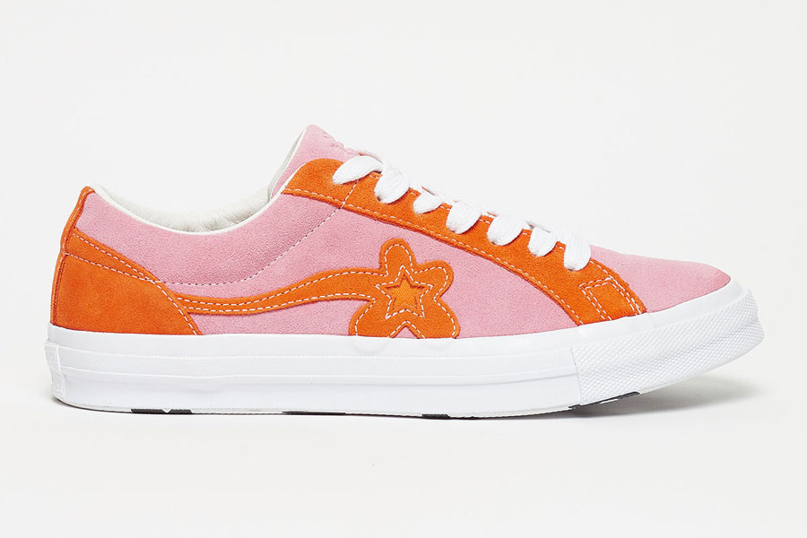 GOLF le FLEUR x Converse One Star Two Tone Pack - Candy Pink Orange Peel