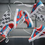 GOLF le FLEUR x Converse One Star Two Tone Pack - Molten Lava Diva Blu (Mood)