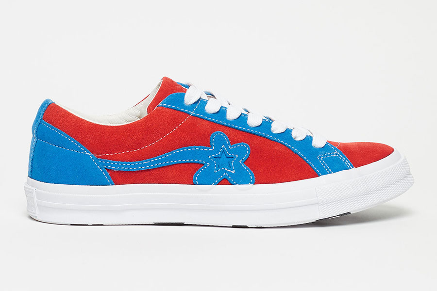 GOLF le FLEUR x Converse One Star Two Tone Pack - Molten Lava Diva Blu