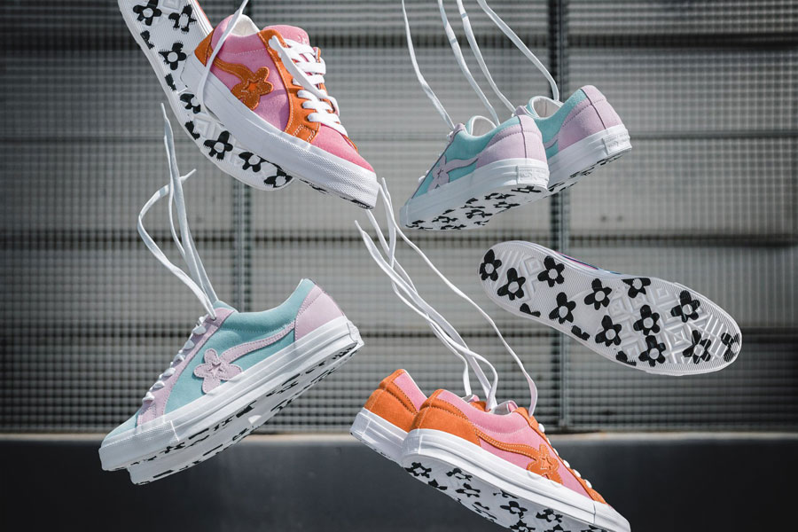5bec6225344f GOLF le FLEUR x Converse One Star Two Tone Pack - Plume Candy Pink (Mood