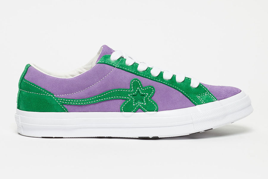 GOLF le FLEUR x Converse One Star Two Tone Pack - Purple Heart