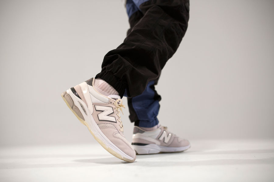 New Balance Caviar & Vodka Pack - M7709CV (On feet)