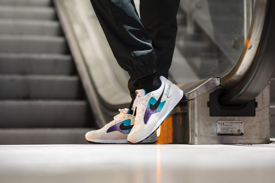 Nike Air Skylon 2 (AO1551-100) - 2018 vs 1992 (On feet)