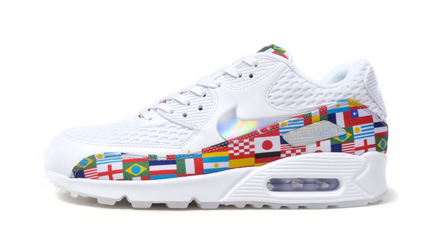 newest ee2ea 4586f Nike International Collection Air Max 90 NIC QS (AO5119-100) - Side