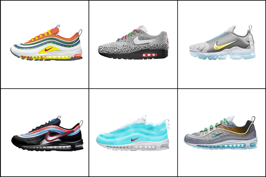 Nike ON AIR Voting 2018 - Winner Designs