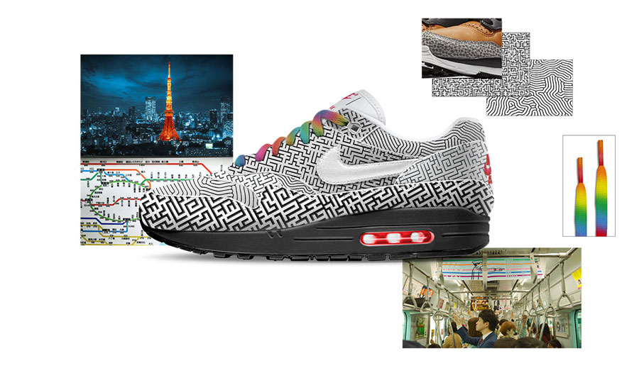 Nike ON AIR Voting - Air Max 1 Tokyo Maze by Yuta Takuman