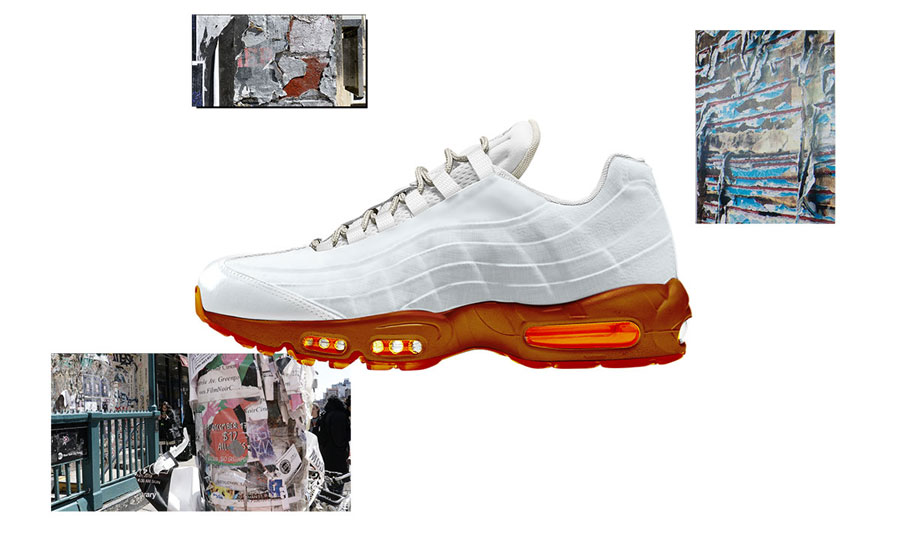 Nike ON AIR Voting - Air Max 95 Cross Section by Brett Ginsberg (White)