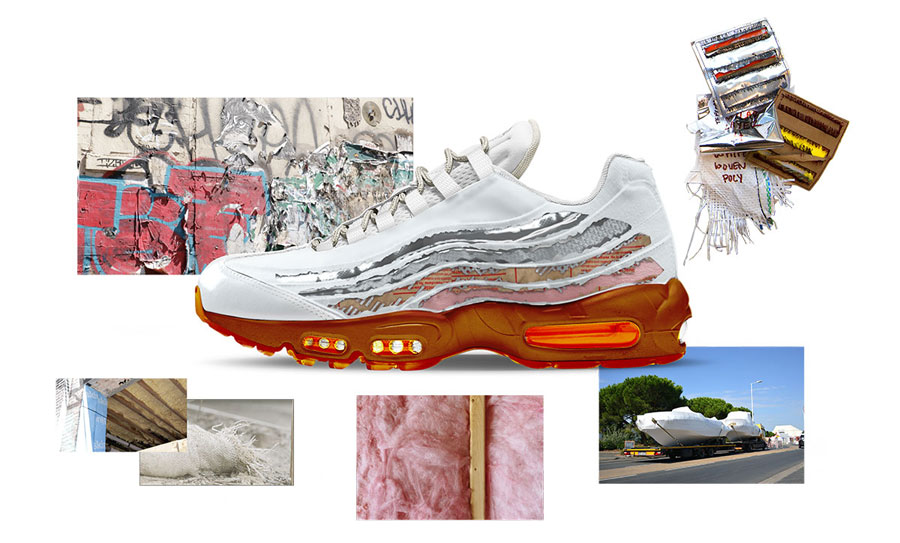 Nike ON AIR Voting - Air Max 95 Cross Section by Brett Ginsberg