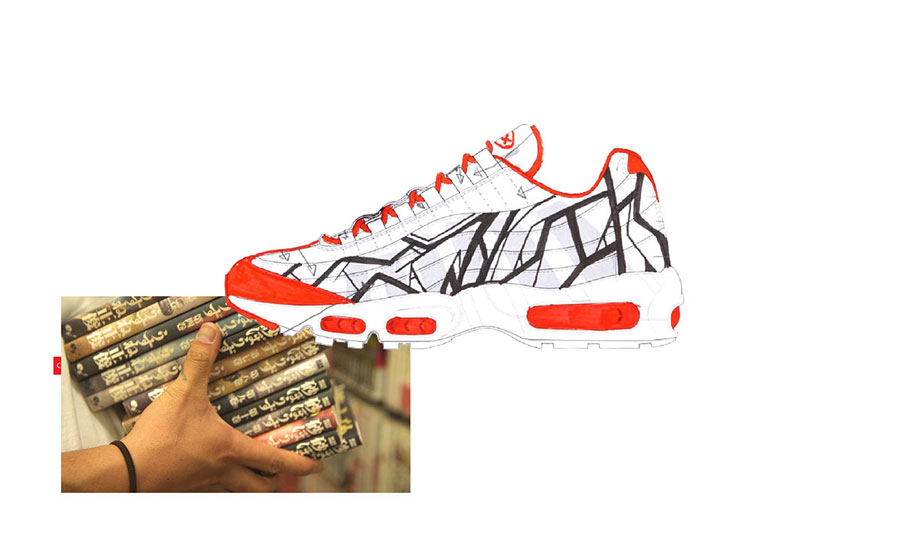 Nike ON AIR Voting - Air Max 95 Cultural City Tokyo by WOOD (Design)