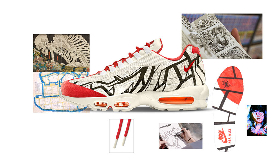 Nike ON AIR Voting - Air Max 95 Cultural City Tokyo by WOOD