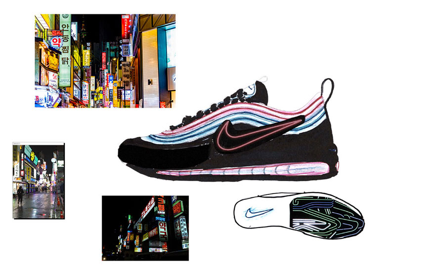 Nike ON AIR Voting - Air Max 97 Neon Seoul by Gwang Shin (Design)