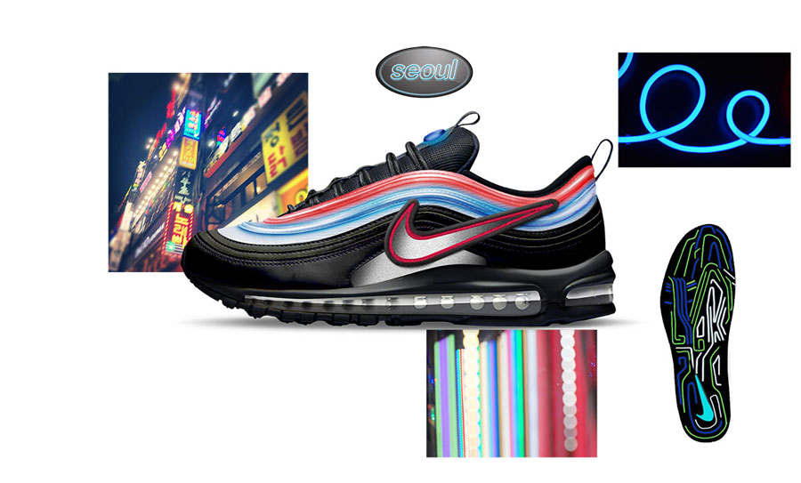 Nike ON AIR Voting - Air Max 97 Neon Seoul by Gwang Shin