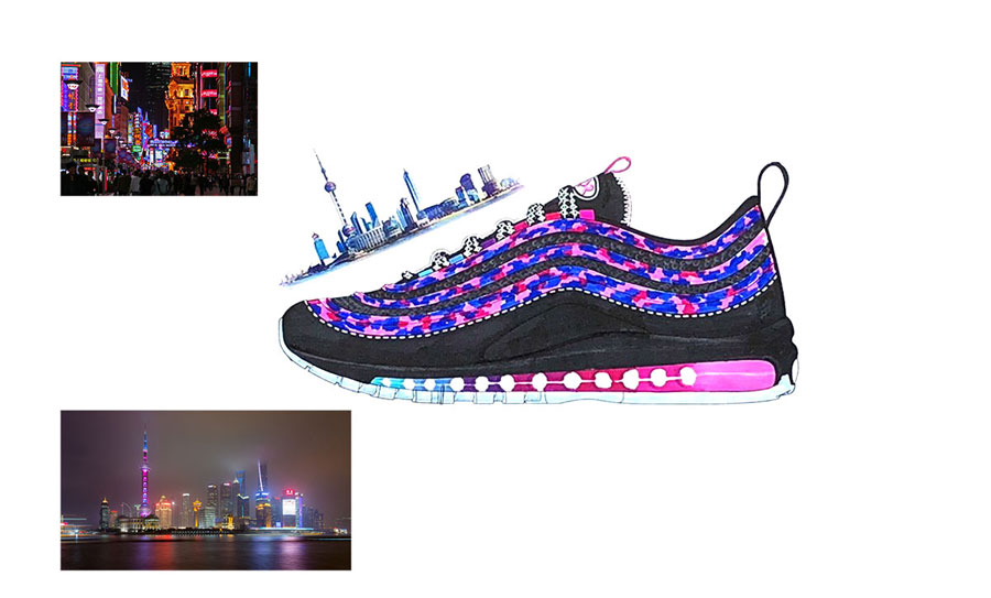 Nike ON AIR Voting - Air Max 97 SH City of Stars by James Lin (Design)