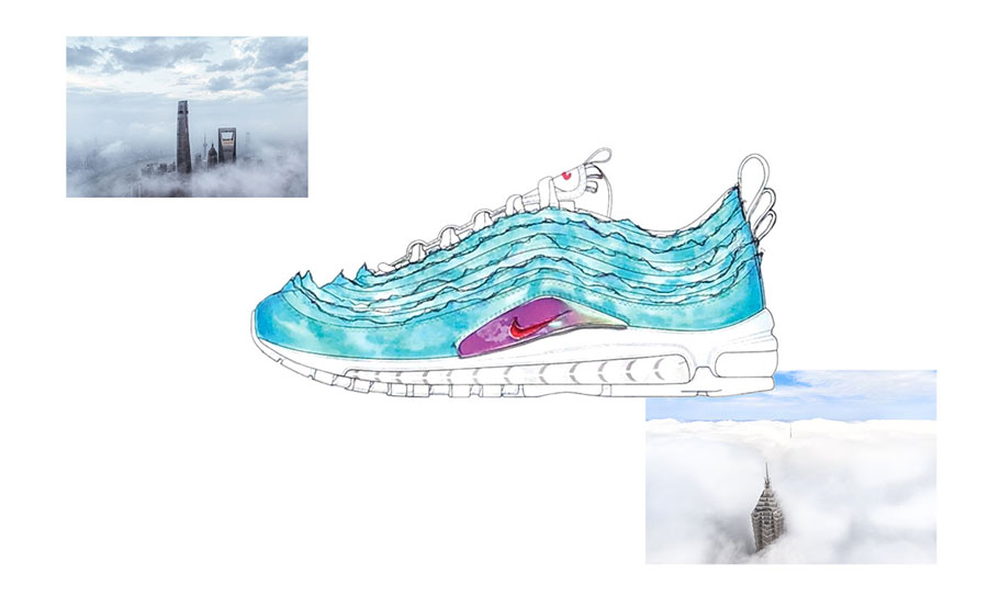 Nike ON AIR Voting: Air Max 97 SH Kaleidoscope by Cash Ru (Design)