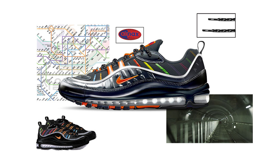 Nike ON AIR Voting - Air Max 98 Metro by Joon Oh Park