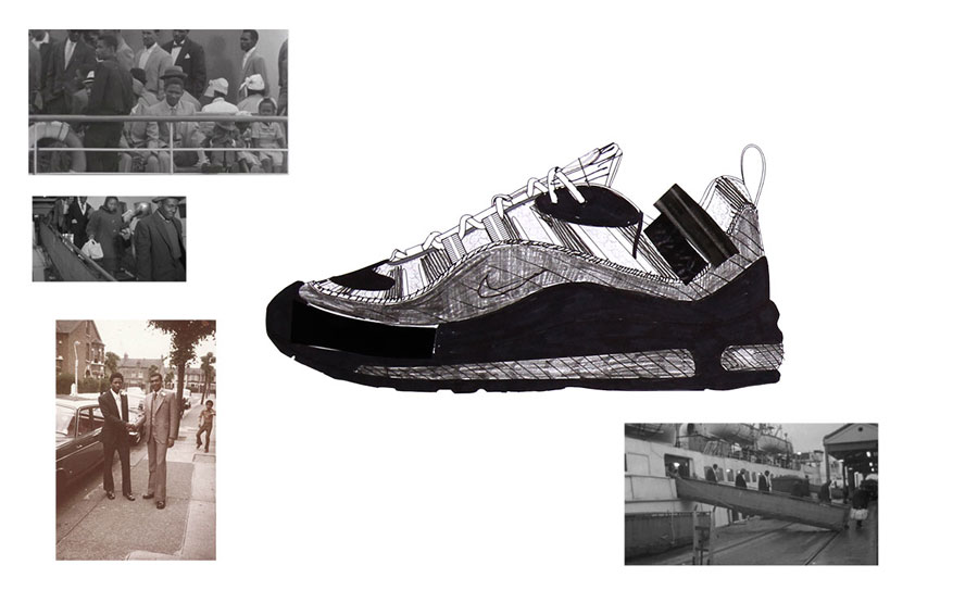Nike ON AIR Voting - Air Max 98 Ode to Layou by Reuben Charters-Bastide (Design)