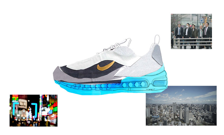 Nike ON AIR Voting - Air Max 98 Tokyo In The Air by Nari Kakuwa (Design)
