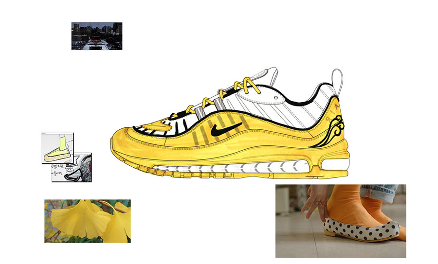 Nike ON AIR Voting - Air Max 98 Ulsoo by Binna Kim (Design)
