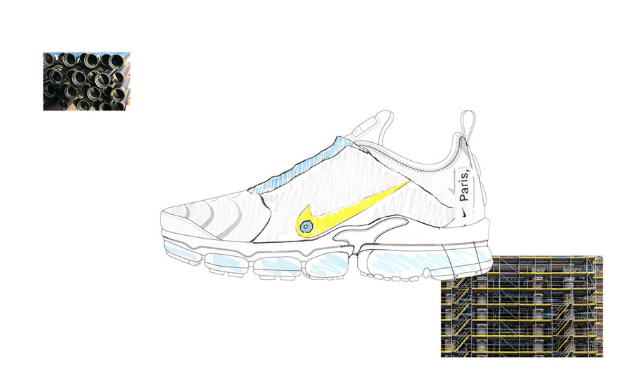 Nike ON AIR Voting - Air VaporMax Plus Paris Works In Progress by Lou Matheron (Design)
