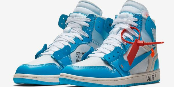 "Official Images of the OFF-WHITE x Air Jordan 1 ""UNC"""