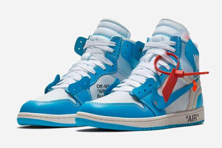 OFF-WHITE x Air Jordan 1 UNC (AQ0818-148)
